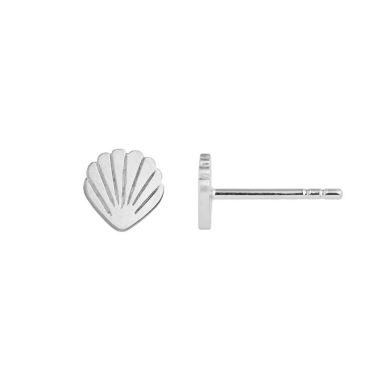 Stine A Petit Shell Ørestik Sølv