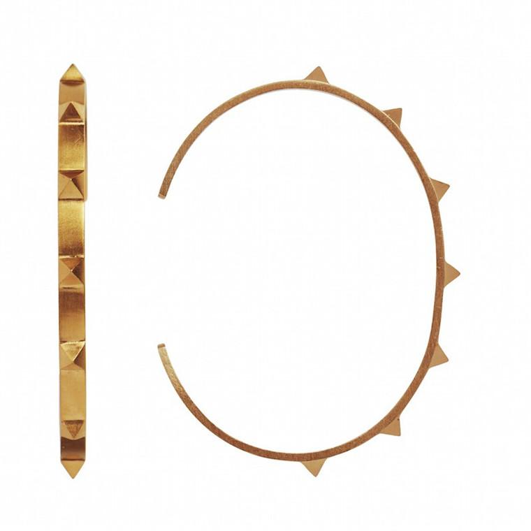 Stine A Armbånd Seven Rivets Guld
