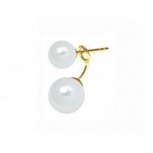 Stine A Two Big White Pearl Earring