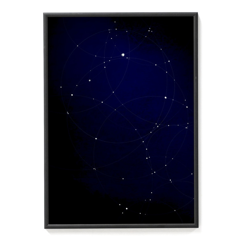 Strups Illustration Random Constellation
