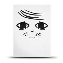 Studio Arhoj Postkort Girl
