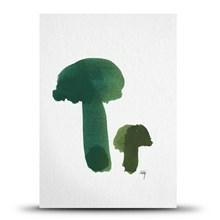 Studio Arhoj Postkort Mushrooms