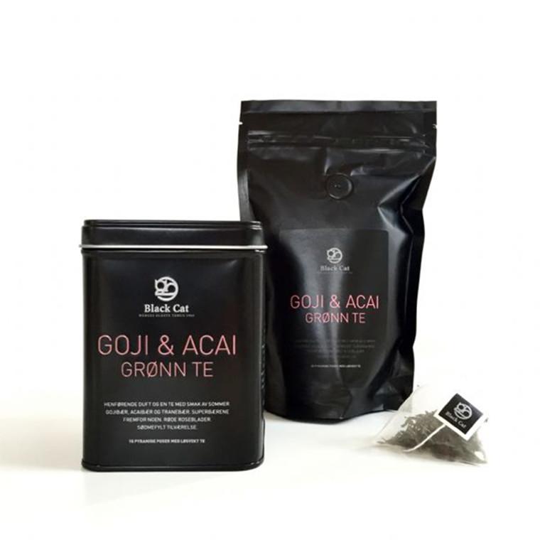 Black Cat Te Goji & Acai Grøn Te