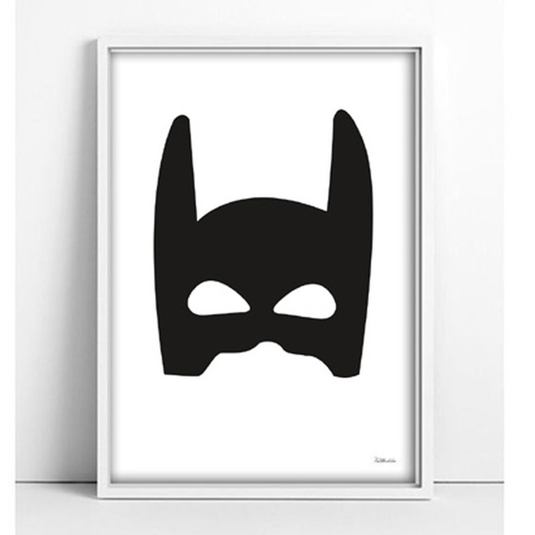 Tellkiddo Print Superhero A4