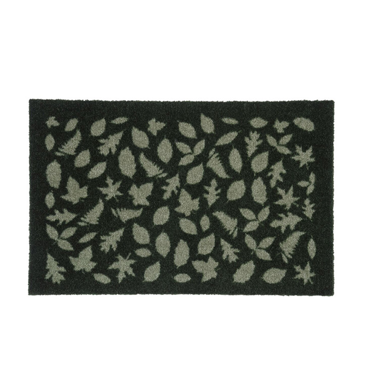 TICA Floormat Smudsmåtte 40 x 60 cm. Leaves green