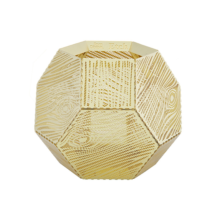 Tom Dixon Etch Wood Lysestage Messing