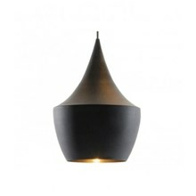 Tom Dixon Lampe Beat Light Fat Sort