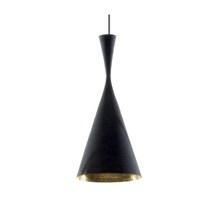 Tom Dixon Lampe Beat Light Tall Sort