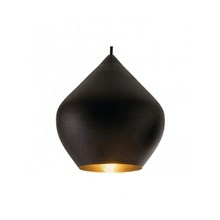 Tom Dixon Lampe Beat Light Stout Sort