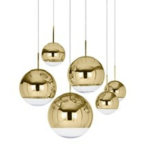 Tom Dixon Pendel Mirror Ball Gold