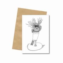 Bob Noon Postkort Ugle