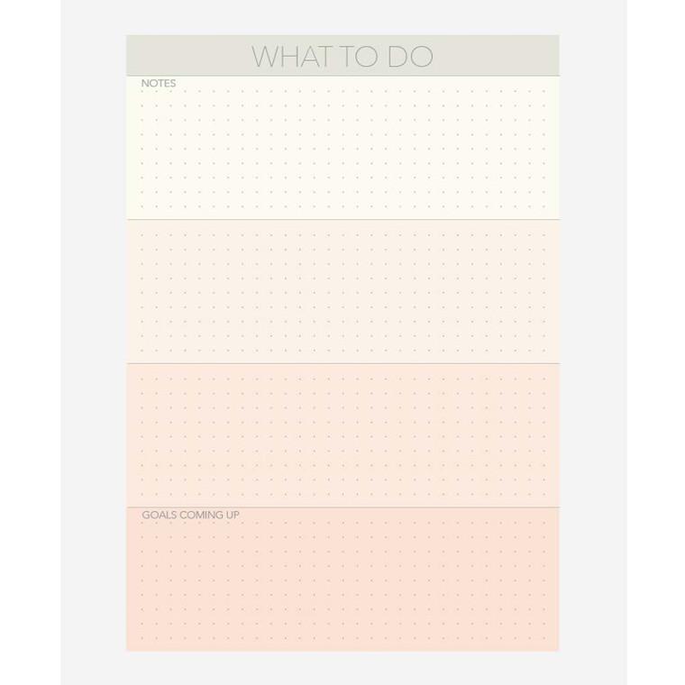 Vissevasse Notesblok A5 What To Do