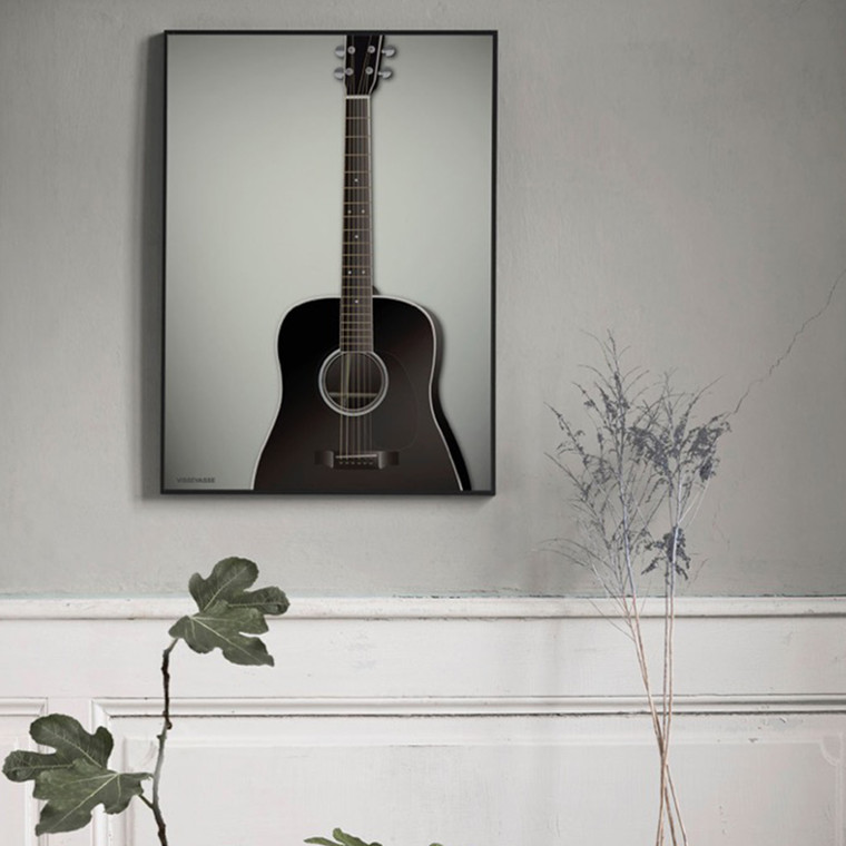 Vissevasse plakat Guitaren