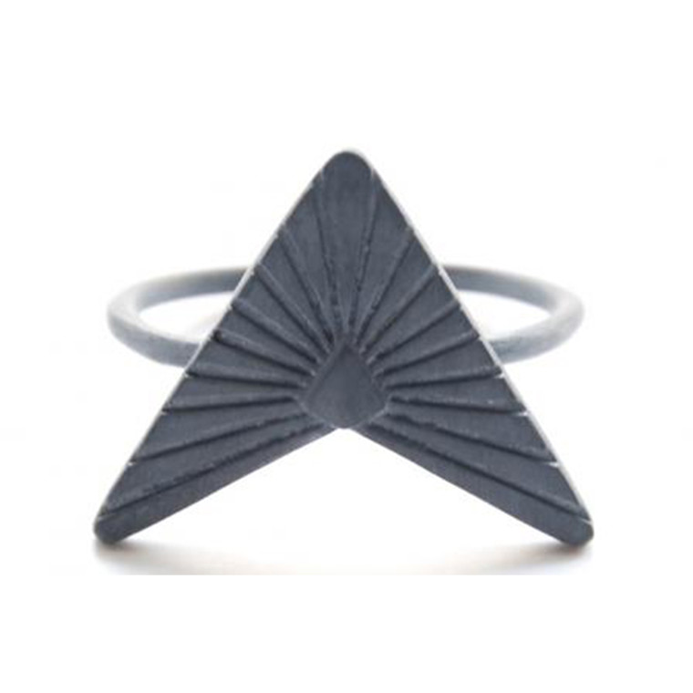 Zarah Voigt Moon Ray Ring Oxideret