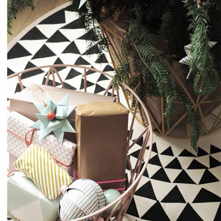 Ferm Living Juletræstæppe Triangle