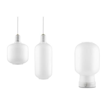 Normann Copenhagen Amp lampe Lille Hvid