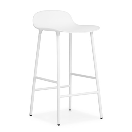 Form barstol i stål fra Normann Copenhagen