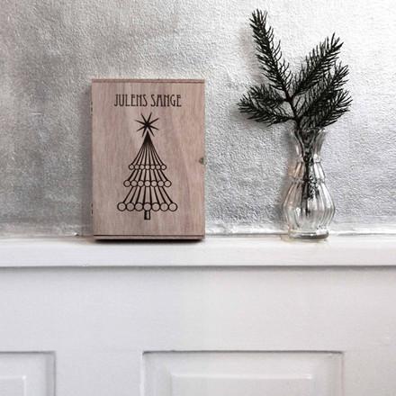 Vissevasse Julens sange i cigarkasse