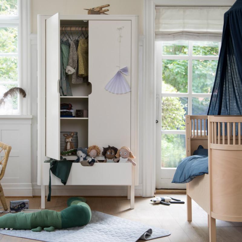 Sebra Klædeskab til børneværelset - Shop Sebra online her