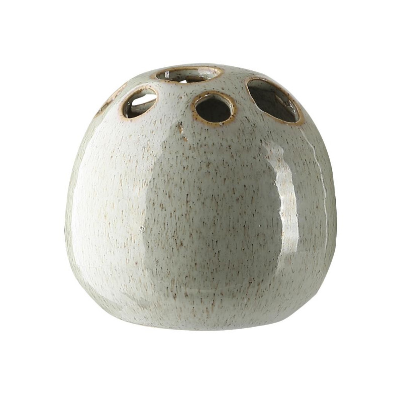 a simple mess vase fnug iceberg keramisk hulvase. Black Bedroom Furniture Sets. Home Design Ideas
