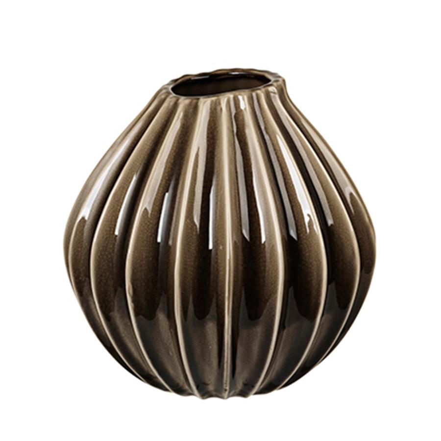 broste copenhagen vase wide medium fungi hurtig levering. Black Bedroom Furniture Sets. Home Design Ideas