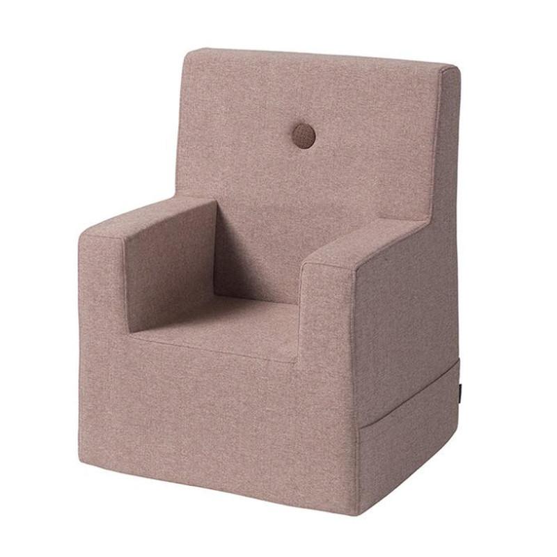 By KlipKlap Kids Chair blågrå m. grå knap | Grå, Nantes og