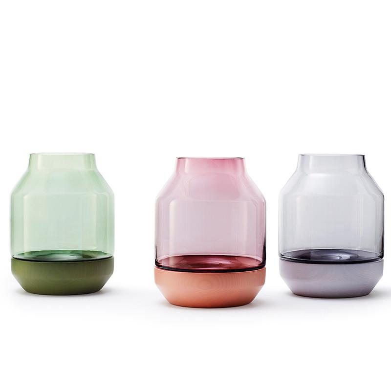 muuto the elevated vase glas vase muuto onlineshop. Black Bedroom Furniture Sets. Home Design Ideas