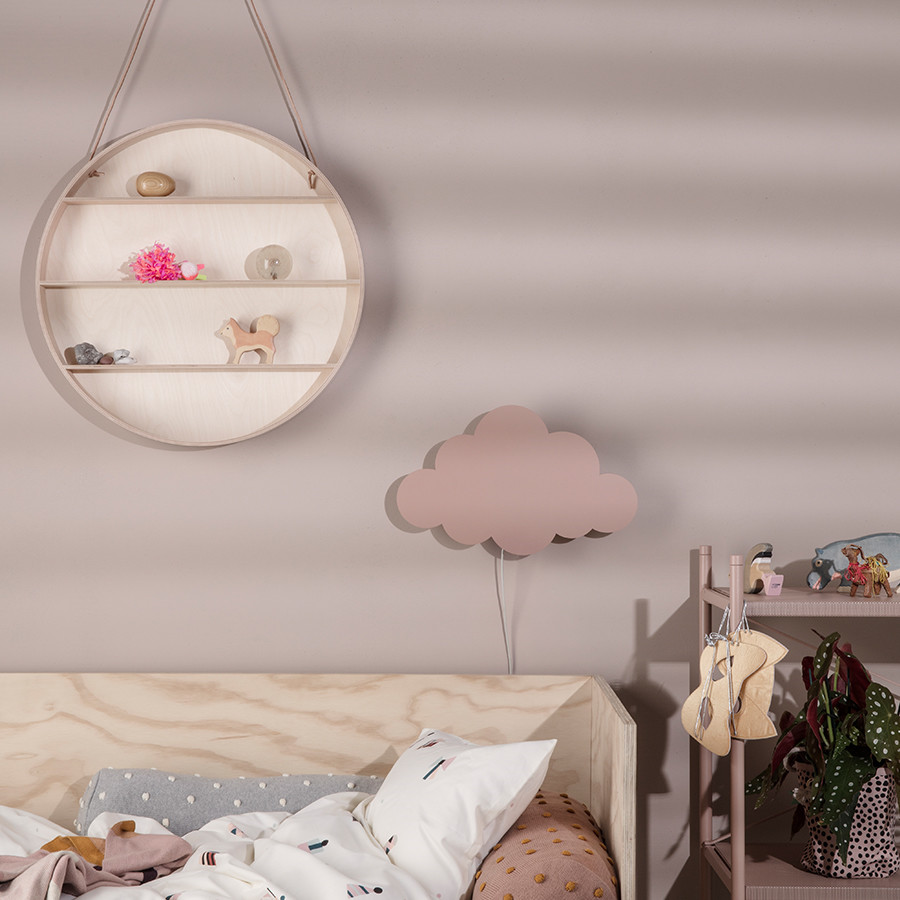 ferm living sky lampe rosa cloud lamp dusty rose. Black Bedroom Furniture Sets. Home Design Ideas