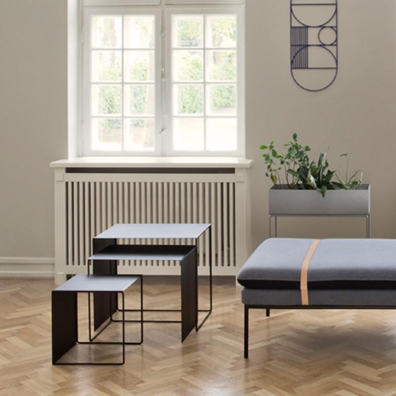 Ferm Living Sofabord - Cluster udtrækningsbord