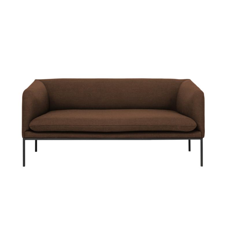 Ferm Living Turn Sofa Fiord Solid Rust (2 personer)