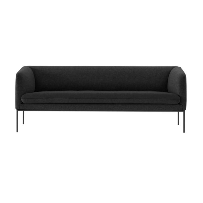 Ferm Living Turn Sofa Wool Solid Mørkgrå (2 personer)
