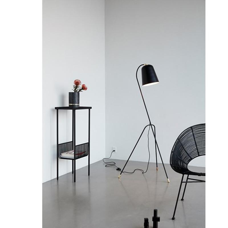 Meget Hübsch Konsolbord i sort metal - Stilrent design fra danske Hübsch FG95