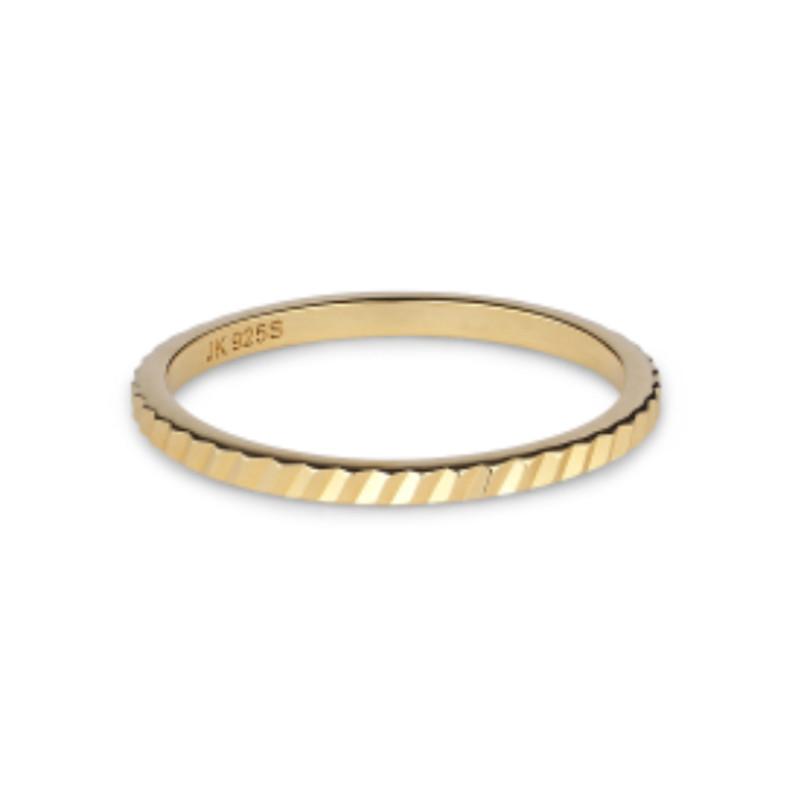 Jane Kønig Small Reflection ring, Guld (50)