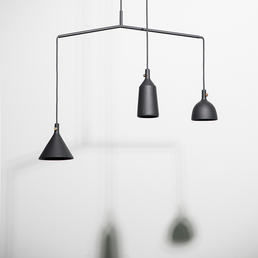 Menu Cast Pendel Shape 3 Skandinavisk Designer lamper