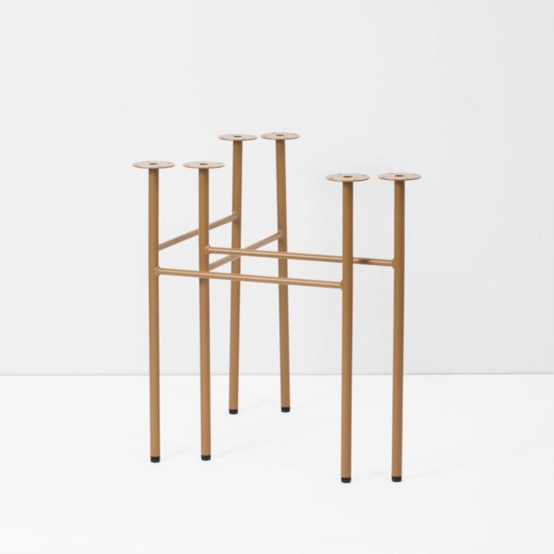 ferm living mingle trestles okker 2 stk. Black Bedroom Furniture Sets. Home Design Ideas