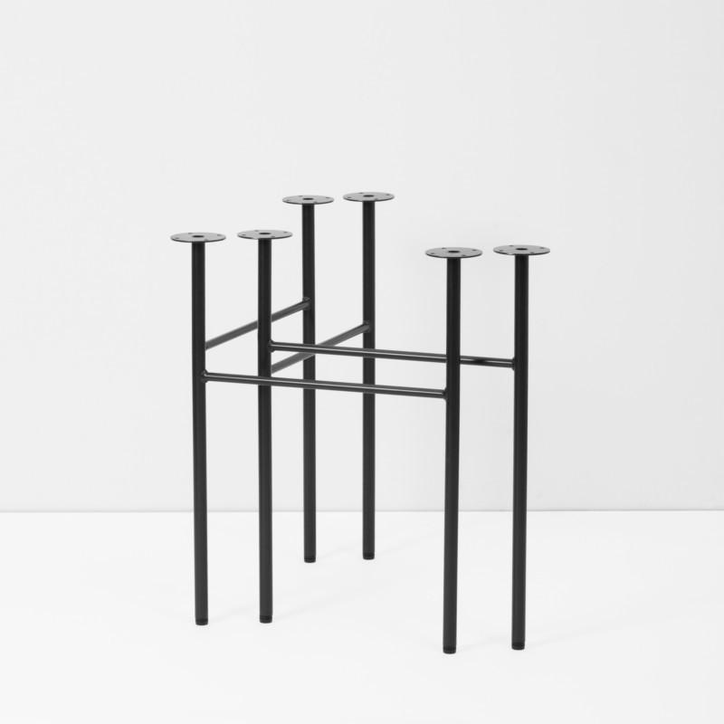 ferm living mingle trestles sort 2 stk. Black Bedroom Furniture Sets. Home Design Ideas