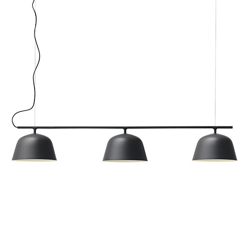 muuto ambit rail i black moderne lysekrone. Black Bedroom Furniture Sets. Home Design Ideas