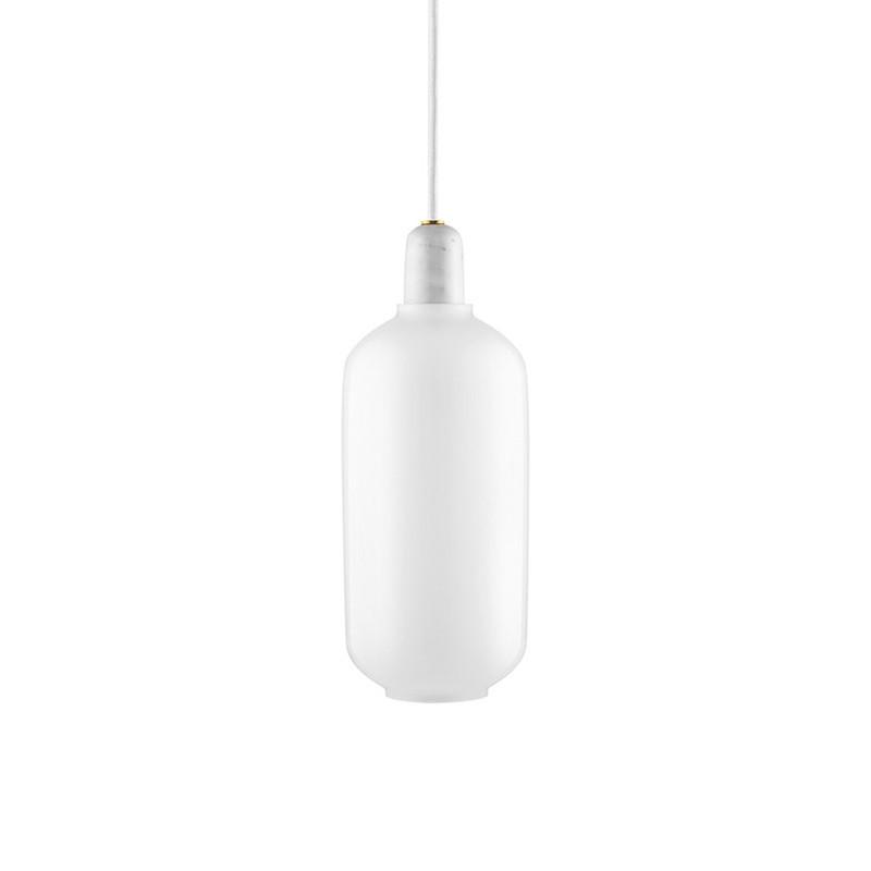 normann copenhagen amp lampe stor hvid. Black Bedroom Furniture Sets. Home Design Ideas