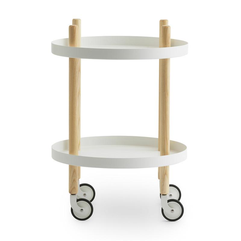 Ungdommelige Normann Copenhagen Block Table Rullebord Rund - Hurtig levering MJ13