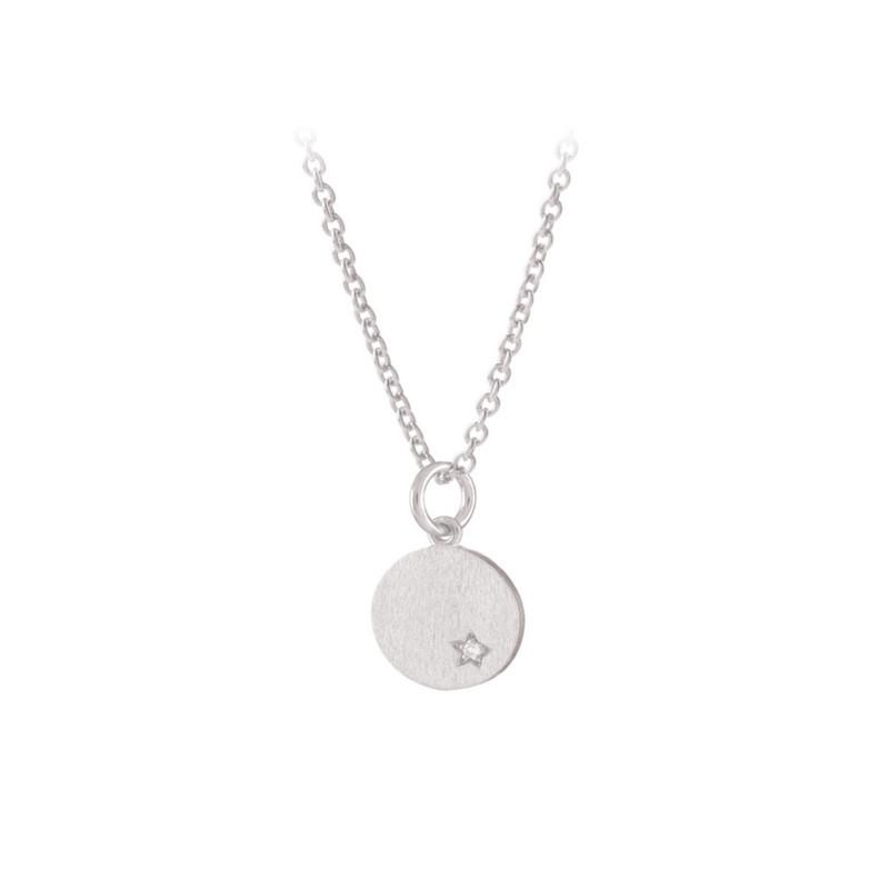 77111566eab Pernille Corydon Diamond Coin Halskæde Sølv - Hurtig levering