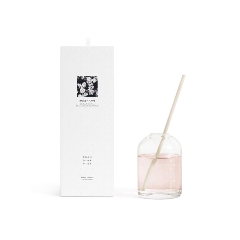 Skandinavisk ROSENHAVE Duft Vase 300 ml