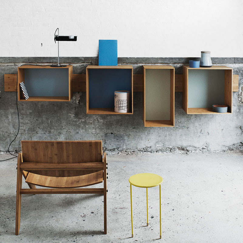 we do wood sj bogkasser we do wood reol. Black Bedroom Furniture Sets. Home Design Ideas