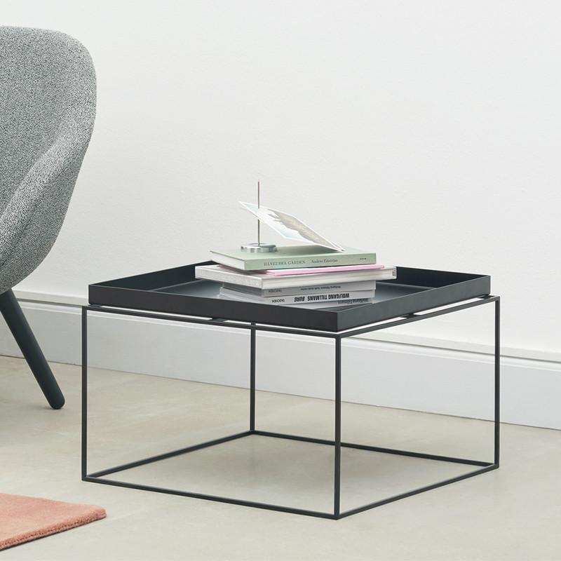 Storslået HAY Tray Table Coffee Bord Sort - Hurtig levering IP55