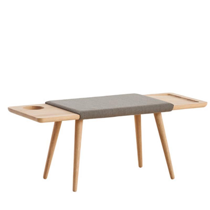 Woud Bænk eg - Stilren bænk i minimalistisk og nordisk design