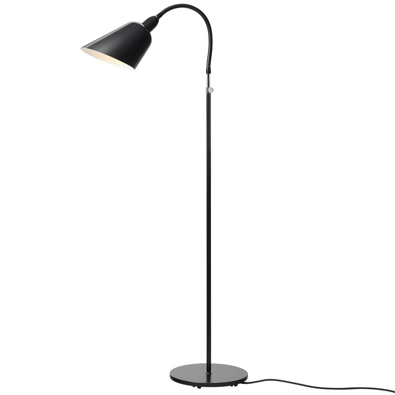 bellevue gulvlampe aj2 arne jacobsen lampe. Black Bedroom Furniture Sets. Home Design Ideas