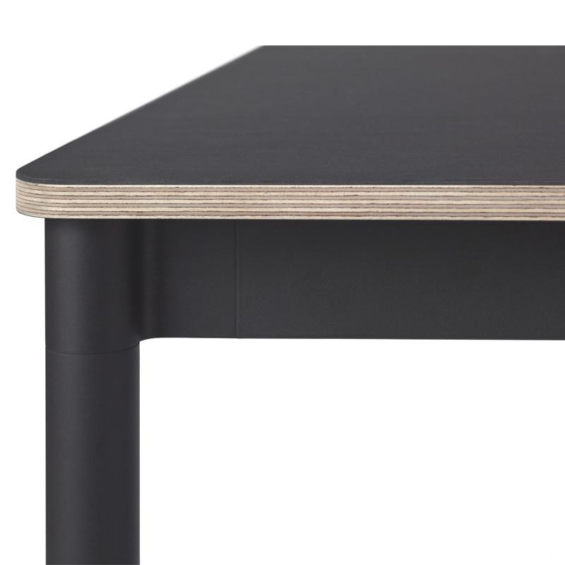 Muuto Base Spisebord i Sort - Se vores store udvalg fra Muuto
