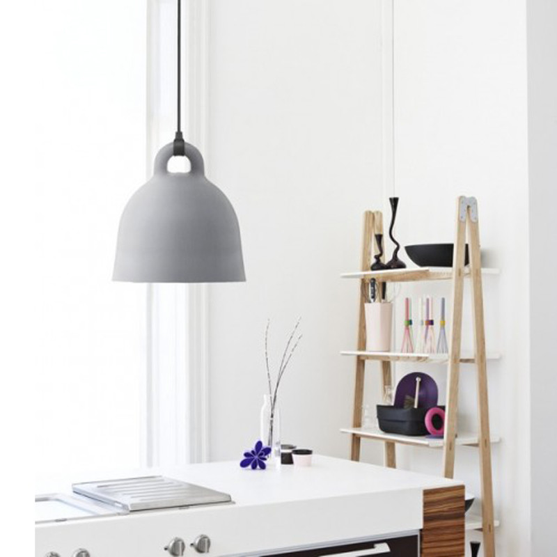 Normann copenhagen bell lamp grey k b online her for Barhocker normann copenhagen