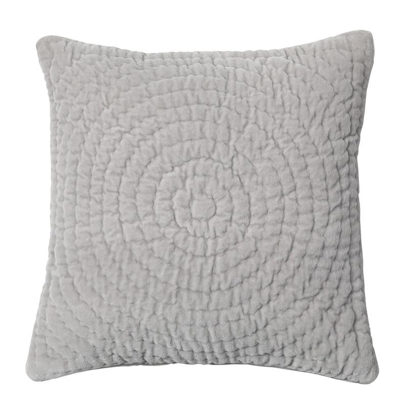 broste copenhagen pudebetr k quilt ring i gr bl de velour puder. Black Bedroom Furniture Sets. Home Design Ideas