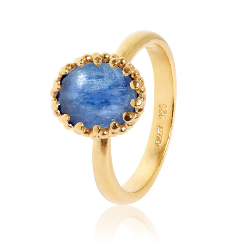 Carré Gilded Marvels Ring Guld Kyanit (50)