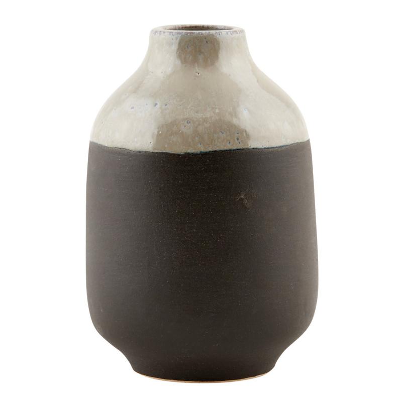 house doctor vase earth gr sort. Black Bedroom Furniture Sets. Home Design Ideas